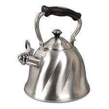 Alderton 2.3-qt. Stainless Steel Whistling Tea kettle