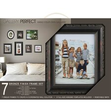 gallery solutions 7 piece picture frame set