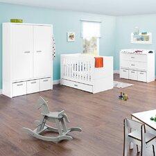 3-tlg. Umwandelbares Babyzimmer-Set Enzo