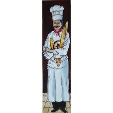 Vertical Chef Tile Wall Decor