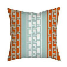 Lounge Essential Geometric Throw Pillow by Positively Home