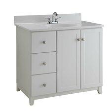 "36"" Single Bathroom Vanity Base"