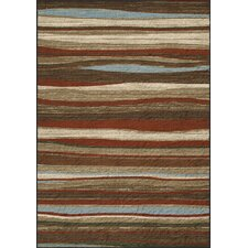 Horizons Brown/Red Area Rug