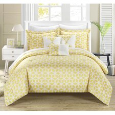 Stefanie 10 Piece Reversible Comforter Set