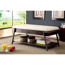 Narnia Cushion Upholstered Storage Entryway Bench by A&J Homes Studio