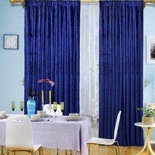 Window Theater Single Curtain Panel