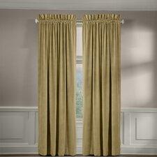 Velvet Soft Luxury Tailored Single Curtain Panel