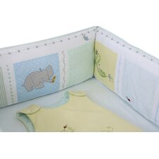 Sweet Pea Baby 3 Piece Crib Bedding Set (Set of 3) by The Little Acorn