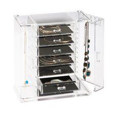 Acrylic Arielle Jewelry Box