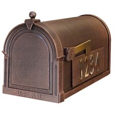 Berkshire Post Mounted Mailbox