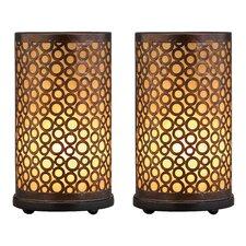 "Amber 15"" Table Lamp Set (Set of 2)"