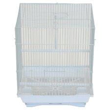 Flat Top Medium Parakeet Cage with Food Access Door