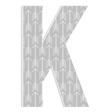 Arlot Grey with Arrows Oversized Hanging Initials