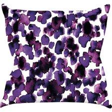 Giraffe Spots by Ebi Emporium Throw Pillow