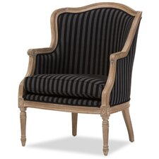 Baxton Studio Charlemagne Armchair by Wholesale Interiors
