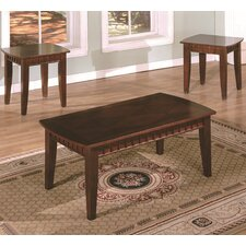 Dentil 3 Piece Coffee Table Set by American Furniture Classics