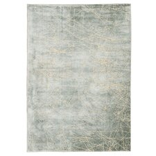 Maya Etched Light Mercury Area Rug