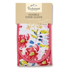 Floral Romance Double Oven Glove