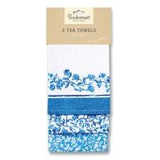 Secret Garden 3-Piece Tea Towel Set