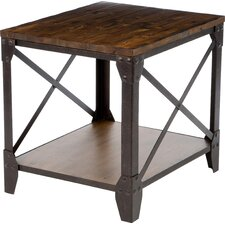 Pinebrook End Table by Magnussen Furniture
