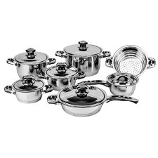 Ecotherm Stainless Steel 12-Piece Cookware Set
