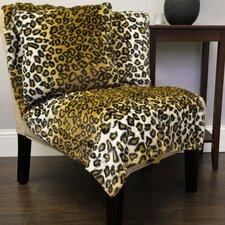 Leopard Print Plush Faux Fur Throw