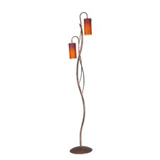 175 cm Design-Stehlampe Fire