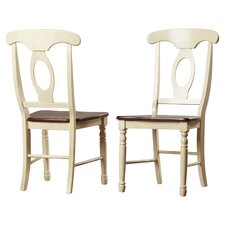 Buena Solid Wood Dining Chair (Set of 2)