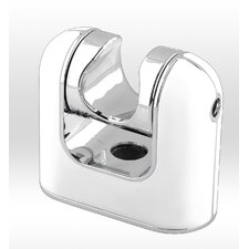 Wall Shower Mount Handheld Bracket Wall Mount Chrome White Universal Wand Holder
