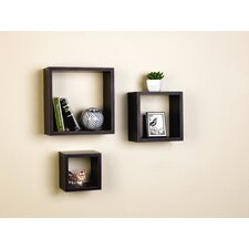 3 Piece Nesting Cube Shelf Set by Andover Mills