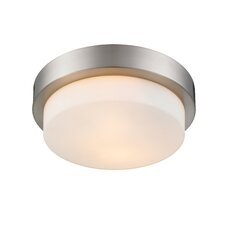 Buttonwillow 2-Light Outdoor Flush Mount