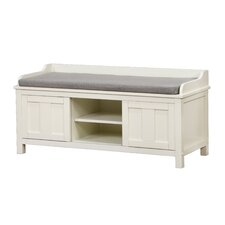 Maysville Wood Storage Entryway Bench