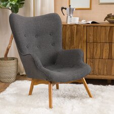 Canyon Vista Mid-Century Wingback Chair