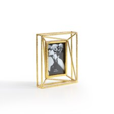 Sparkling Gold Geometric Picture Frame