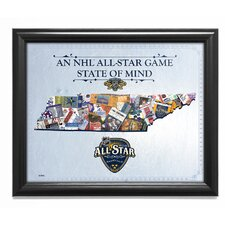 NHL '2016 All-Star Game State of Mind - Nashville Predators' Framed Wall Art