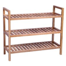 New Waverly 3 Tier Stackable Shoe Rack