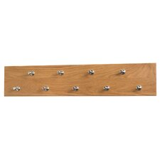 New Waverly Hanger 9 Wall Mounted Coat Rack