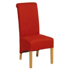Oak Upholstered Dining Chair