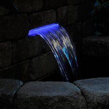 Lighted Waterfall LED Spillway