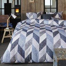 Bettbezug Dawson aus Biber (100% Baumwolle)