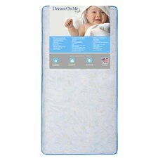Twinkle Star Crib and Toddler Mattress by Dream On Me
