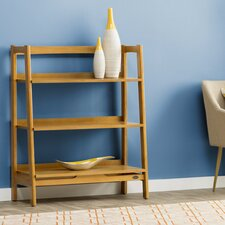 """Easmor 44"""" Leaning Bookcase"""