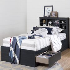 Aviron Twin Mates Bed with Drawers by South Shore