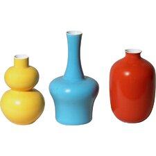 3 Piece Mini Bud Vase Set