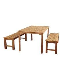 Elsmere 3 Piece Dining Set