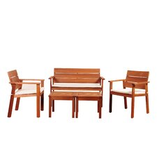 Maroc 5 Piece Bench Seating Group with Cushion