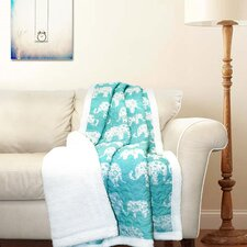 Hector Sherpa Throw Blanket