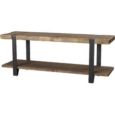 Fallon Wood Storage Entryway Bench
