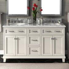 Carolina 60 Double Bathroom Vanity Set by Lanza