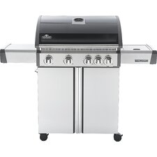 Triumph 5-Burner Propane Gas Grill with Cabinet